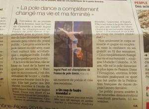 Article Dauphiné Foire Grenoble 2015